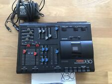 Magnétophone multipistes Fostex x30 tape recorder