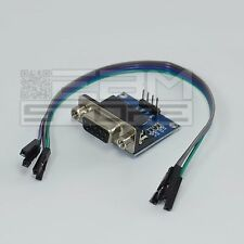 Convertitore RS232 TTL MAX232 shield per arduino pic RS 232 - ART. CL04