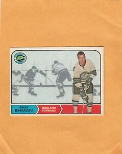 1968-69 O PEE CHEE  GERRY EHMAN NO:84 v g cond+   see scan