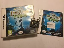 NINTENDO DS NDS DSL NDSL DSi GAME Disney THE PRINCESS & THE FROG COMPLETE PAL