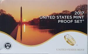 2017 S US Mint Proof Coin Set Original Box & COA 10 Coins