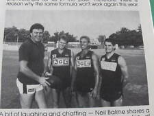1987 Redlegs Review Norwood Football Club Connelly Richardson Rowe Dillon etc