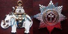 Ordre de l'Éléphant (Elefantordenen) (Ordre + Etoile) - Danemark
