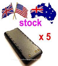 US/UK/AUS,5xG105LI Battery for Standard Horizon HX280/380 FNBV105LI,vertex,yaesu