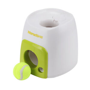 Automatic Dog Ball Launcher Pet  Toy Fetch Training Thrower Machine Tennis Toys