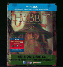 Hobbit Unexpected journey Special Ed sealed 3d blu ray lenticular LTD steelbook