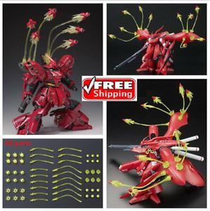 Yellow Funnel Effect Part for MG 1/100 Sazabi ver.ka RE Nightingale Gundam