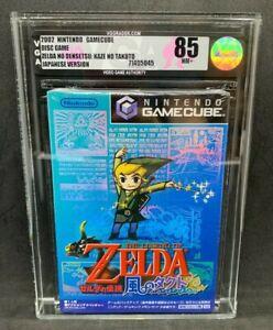 2011 Nintendo Gamecube GC The Legend of Zelda Wind Waker Japan New Sealed VGA 85