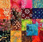 17 ~ 10 Inch Batik Quilt Fabric Squares, Layer Cake, #3