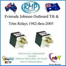 A Brand New Set x 2 Evinrude Johnson Tilt & Trim Relay 1982-thru-2005 # 584416