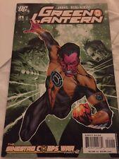 Green Lantern #21 2nd Print Variant (2007) DC Comics