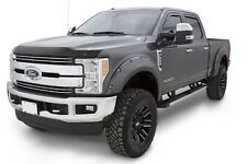 Bushwacker Pocket Style Oxford White Front and Rear Fender For 17-18 Ford F-250