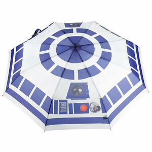 Star Wars R2-D2 Sublimated Print Umbrella White