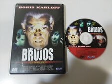 LOS BRUJOS THE SORCERERS BORIS KARLOFF DVD TERROR HORROR ESPAÑOL ENGLISH &