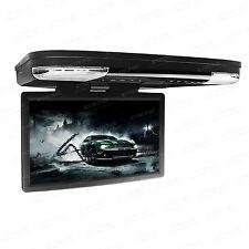 "15"" Car DVD Player Roof Mount HDMI In Car Flip Down Monitor 32 Bit Games 12v/24v"