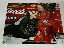 RARE! Dale Earnhardt Jr autographed RICHMOND 2006 VICTORY LANE BUDWEISER photo