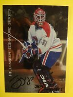 1999-2000 IN THE GAME JEFF HACKETT MILLENIUM SIGNATURE SERIES AUTOGRAPHED CARD