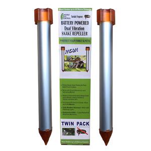 Enviro Bug Control - Battery Powered Snake Repeller - Small House Block - 2 Pack