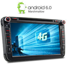 """4G 8"""" Android 6.0 DVD GPS Sat Nav for VW PASSAT GOLF MK5 MK6 T5 EOS POLO Skoda"""