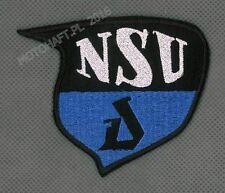 NSU logo toppa ricamata termoadesivo iron-on patch Aufnäher