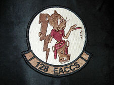 USAF 128TH EACCS E-8 JSTARS GA ANG OEF OIF OND OOD OUP SWA DESERT TAN HOOK PATCH