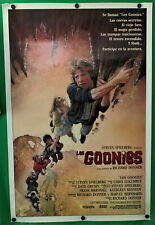 1985 Spanish LOS GOONIES One Sheet 27 x 41 Movie Poster Rolled ~ Ultra Rare!!!