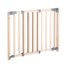 Roba Holz Schutzgitter, Türgitter, Treppengitter 70-118,5 cm, Höhe 83,5 cm