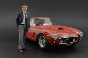 Sergio Pininfarina Figure for 1:18 Ferrari CMC VERY RARE!  !! NO CAR !!