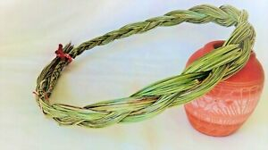 """Sweetgrass Braid 20"""" Native American Smudging Herb"""