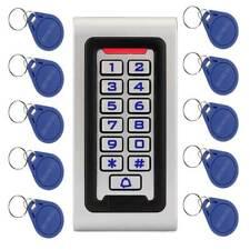RFID125KHZ ID Keypad Stand-alone Door Access Control Wiegand 26 bit+10XRFID Card
