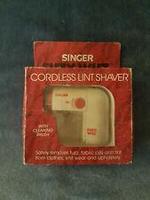 SINGER Fusselrasierer FUZY WUZ Cordless Lint Shaver unbenützt OVP Stoffrasierer