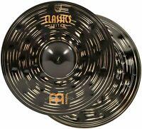 """Meinl 14"""" Hihat (Hi Hat) Cymbal Pair - Classics Custom Dark - Made in..."""