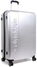 """Calvin Klein Manhattan 2.0 24"""" Spinner Wheeled Upright Luggage - Silver"""