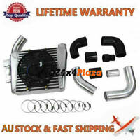 Top Mount Intercooler Kit For NISSAN PATROL GU 3.0TDI ZD30 GU30DI-T Turbo Diesel