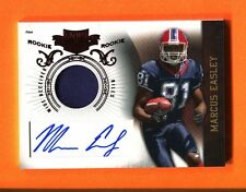 2010 Panini Plates & Patches Marcus Easley GU Jersey Autograph RC Bills /699