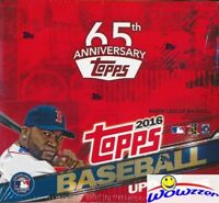2016 Topps UPDATE Baseball MASSIVE Factory Sealed 24 Pack Retail Box-288 Card