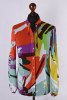 Ladies Trussardi Multicolored Long Sleeve Shirt Size S
