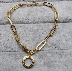 Thomas Sabo X0253-413-39 Charm armband Gold 17.0 cm Ag925