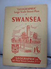 Swansea - Large Scale Street Plan - Index - Geographia