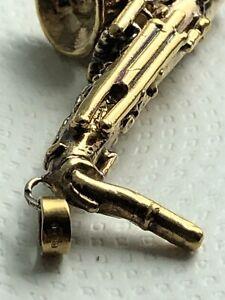 9kt Yellow Gold Men Trumpet