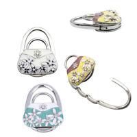 1Pc Folding bag handbag tote table hanger hook holder purse hanger holder BH