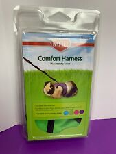 Kaytee Small Animal Harness & Stretchy Leash Size: Medium Color: Green