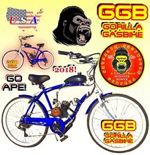 "66cc/80cc 2-stroke motorized bike Kit With 26"" Cruiser Bike High Power"