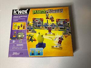K'Nex Plants vs Zombies, Jetpack Zombie Attack Building Set, 215 pcs, RARE