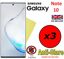 3x HQ MATTE ANTI GLARE SCREEN PROTECTOR COVER FILM GUARD SAMSUNG GALAXY NOTE 10
