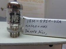1x 5751 ecc83 IBM tripleta mica Holy Grail nos Tube valvola