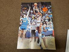"Clemson University 1980/81 Men's Basketball Schedule Poster (12"" x 17.5"")"