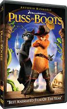 Puss in Boots DVD Region 1