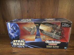 Star Wars Action Fleet TPM ALPHA/CONCEPT SITH INFILTRATOR Episode I RARE