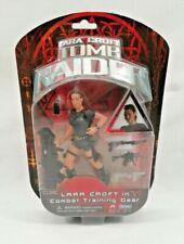 Tomb Raider Figure Lara Croft Figure Combat Training Gear Playmates 2001